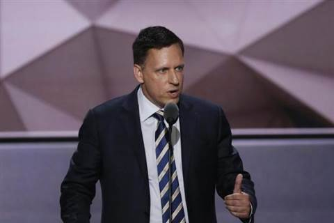 Here's what Silicon Valley Republicans thought about Peter Thiel's RNC speech