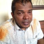 Condemn in the strongest terms the pepper spray attack on MP @DhekunuNizar by #Maldives police today https://t.co/9B3I11G6vd