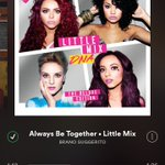 Ill always be by your side, dont you worry. 😻  #MTVHottest Little Mix https://t.co/DhBxoloQKR