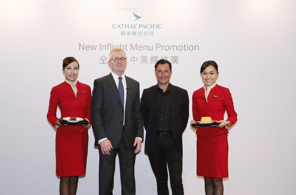 Cathay Pacific partner w celebrity chef @danielgreen70 to create new inflight dining dishes