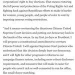 Hillary Clinton Statement on End Citizens United PAC Endorsement https://t.co/mX2KkRSVTu