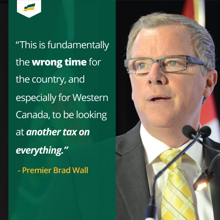 No to carbon tax.Yes to trade. @PremierBradWall standing up for SK at premiers' mtgs #skpoli https://t.co/S216qQcrFI https://t.co/MumjwJaJCF