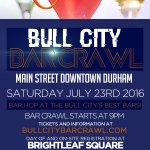 Tonight come out to The #BullCityBarCrawl! https://t.co/OdL46OU3eo