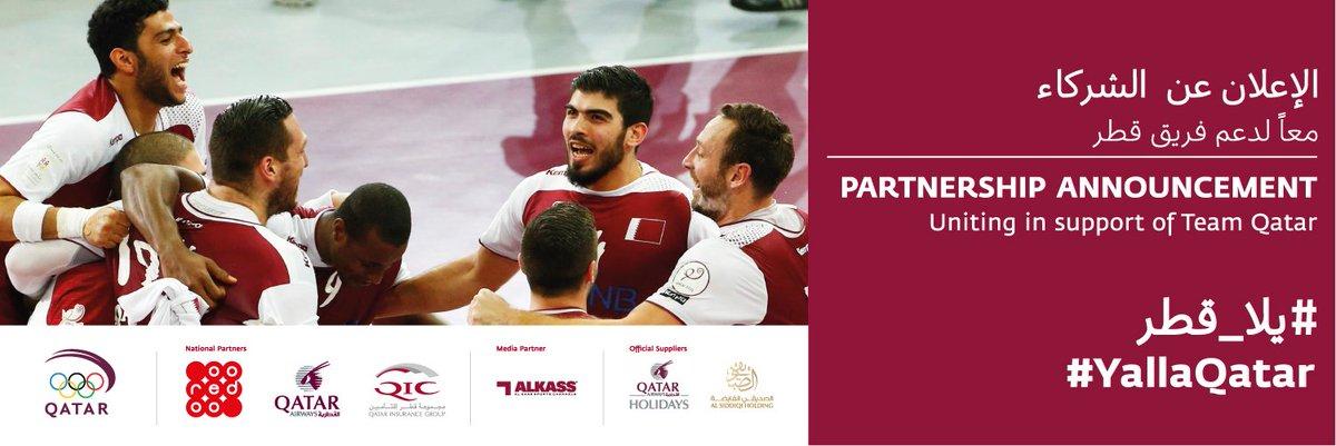 RT @qatar_olympic: Amazing to have support of @qatarairways,@OoredooQatar & @Qatarinsurance! YallaQatar https://t.…