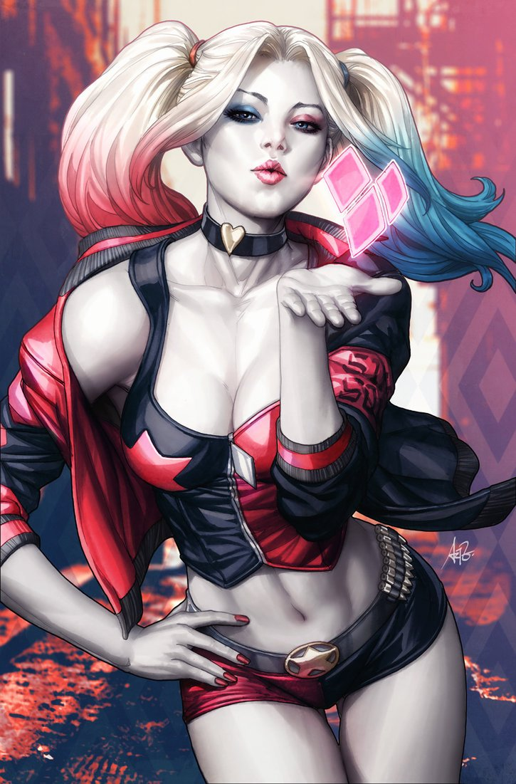 Harley Rebirth par Artgerm https://t.co/NfkuQlO1cw