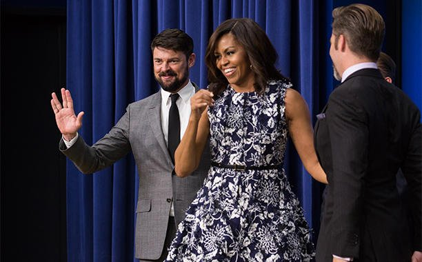 Michelle Obama screens 'Star Trek Beyond' with the military: