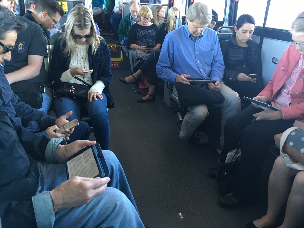 On my bus ride home. Obviously in this day and age, we need an app to strike up a conversation. https://t.co/GtjfVGMIbf