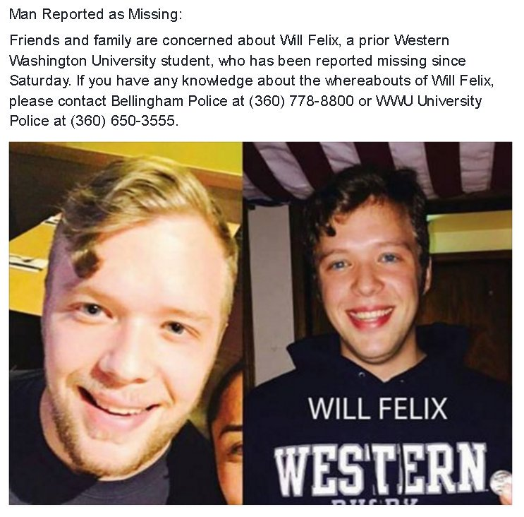 Man reported missing: https://t.co/bWrahSWcee