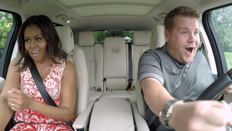 Watch: Michelle Obama Rocks Out on James Corden's