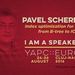 Today we feature Pavel. Hell talk about Index optimization for #MySQL https://t.co/QyOzy3yhTS cc @MySQL #yapceu2016 https://t.co/AsDI11kT00