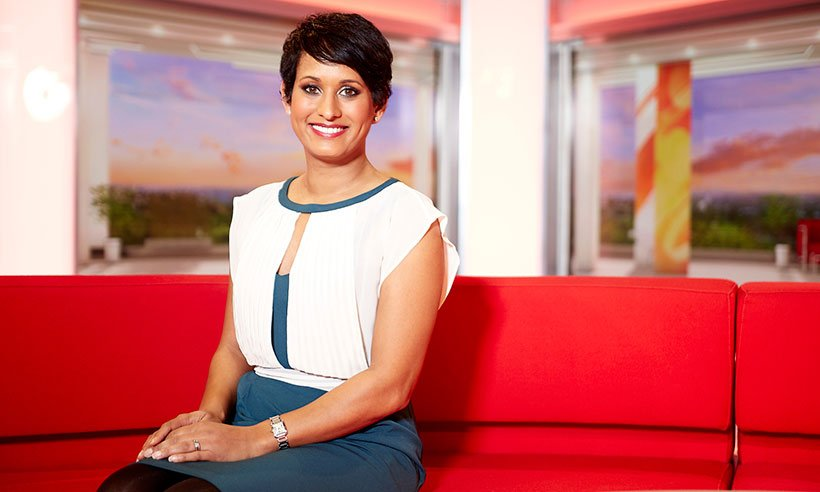 BBC Breakfast's @BBCNaga Munchetty: 'I refuse to be upset by racist internet trolls'