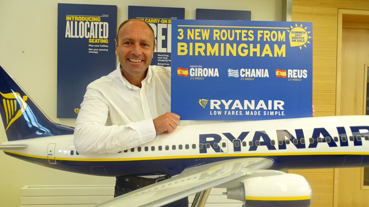 We've launched our biggest ever Birmingham summer schedule (2017). Happy flying! Read more: