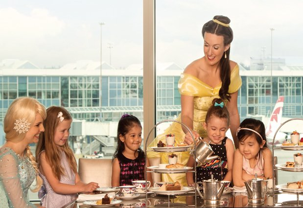 Meet all your fairy tale favourites - tix left for Princess Tea Party tomorrow @FairmontYVR: