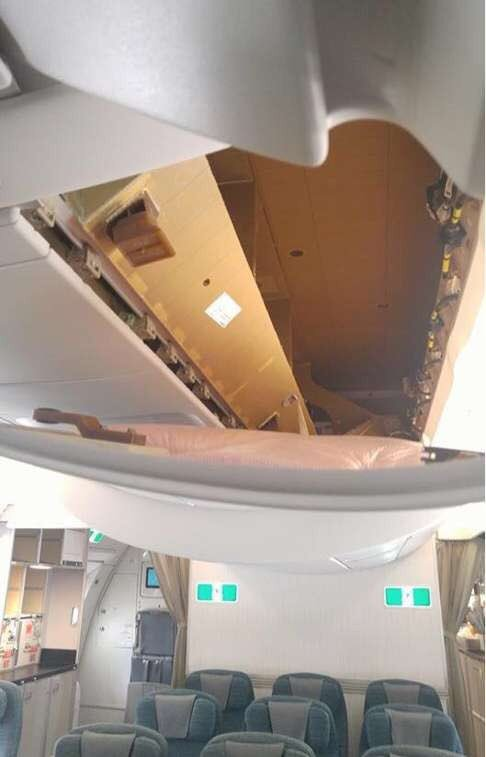 Passenger pulls off Cathay A350 crew rest ceiling panel, thinking it's an overhead bin https://t.co/fjJcxmhKKD https://t.co/Evxu214JkH