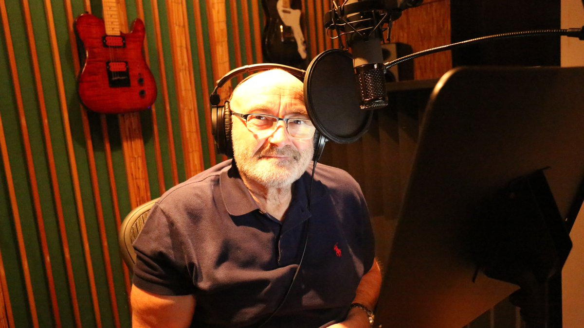 Phil has been in the studio recently recording the audiobook for his book 'Not Dead Yet' https://t.co/EPb4PV8yDD