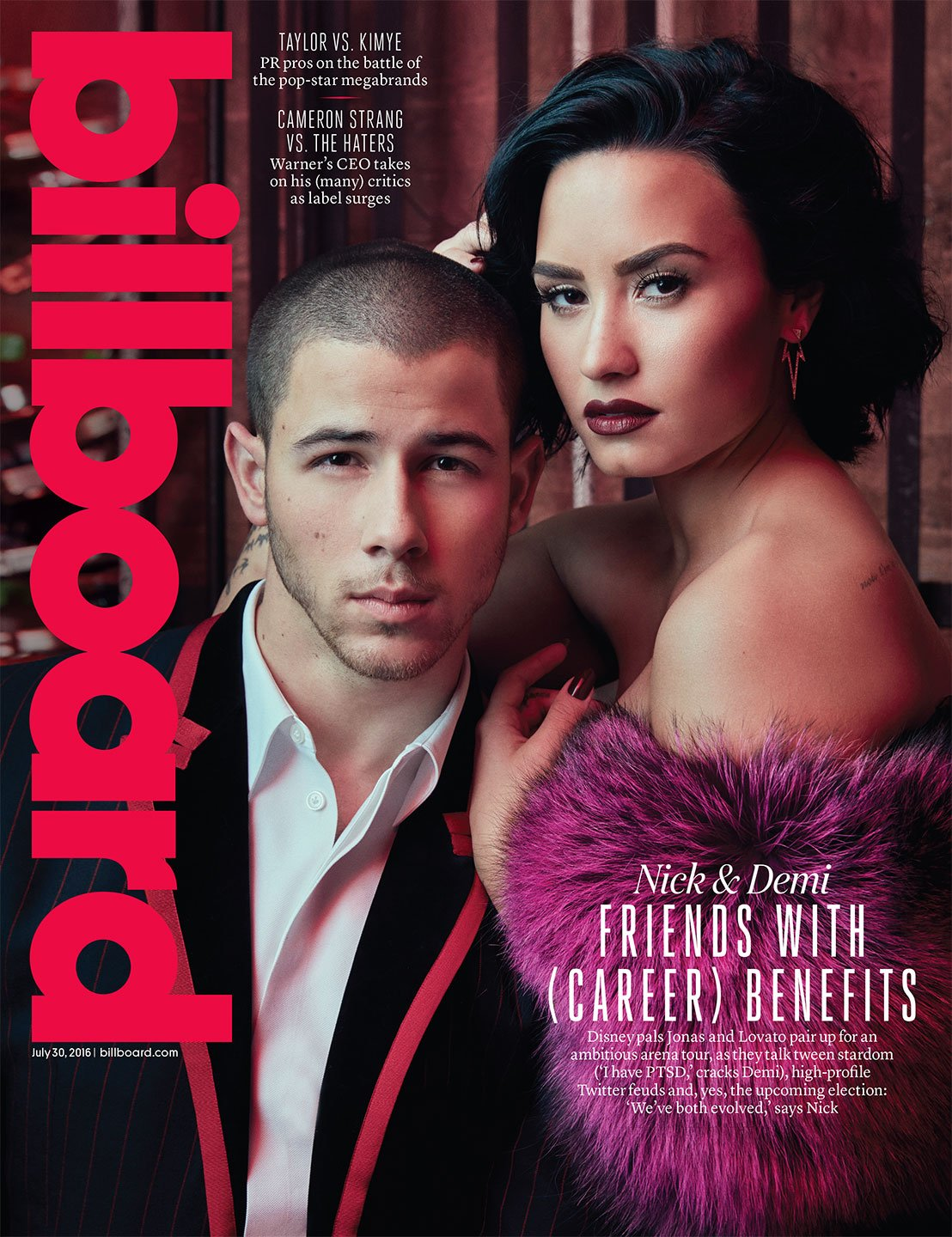 Cover Story: A real conversation between @ddlovato & @NickJonas https://t.co/mYCFXKBUBe https://t.co/sxeM6ht8BP