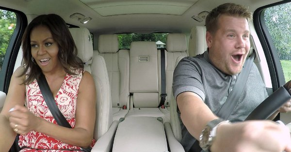 Bet you didn't catch *everything* in @FLOTUS Michelle Obama's CarpoolKaraoke segment: