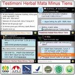 Herbal Mata Minus Tiens COD di Jakarta SMS/WA: 081289651788 (Ika) #HerbalMataMinusJakarta https://t.co/RxvKdXjumV