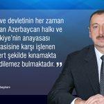 """Azerbaycan Cumhurbaşkanı İlham Aliyev FETÖ darbe girişimini kınadı: """"Türk halkı ve devletinin her zaman yanındayız."""" https://t.co/nTpEUyrCWl"""