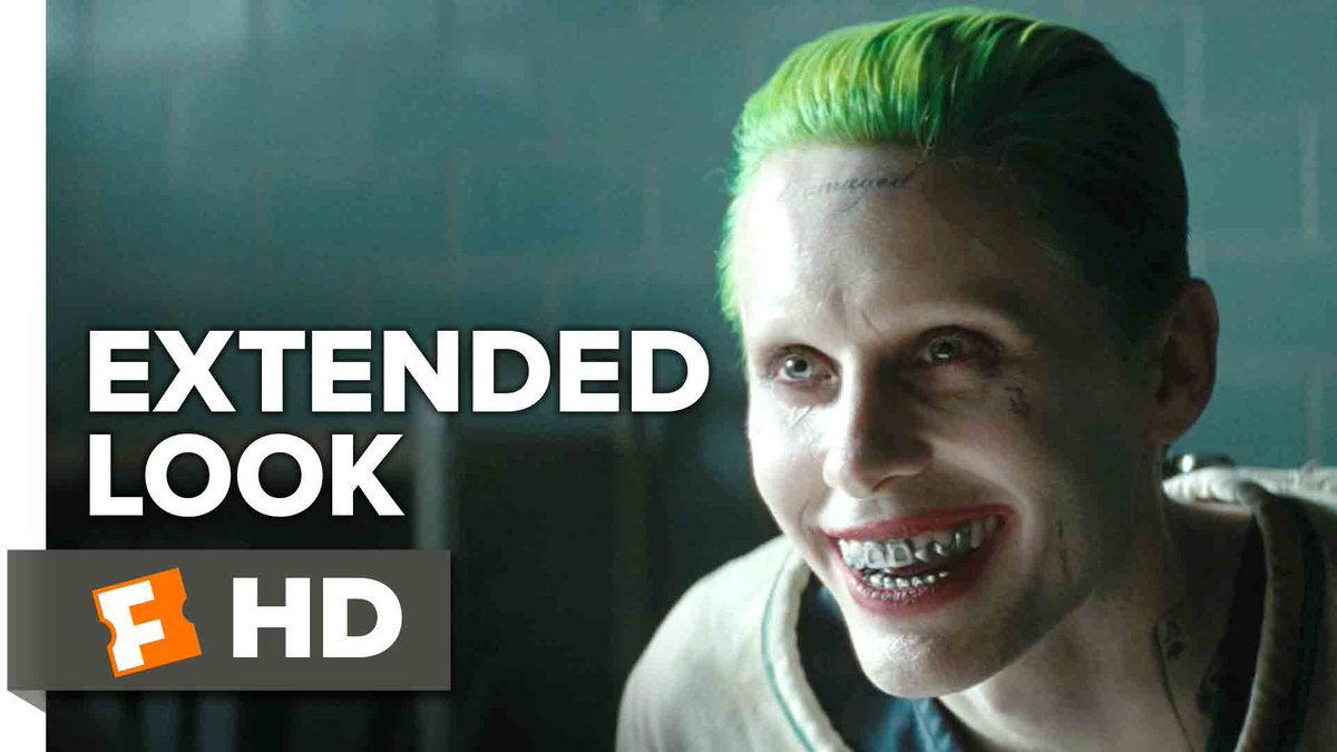 Get your Joker fix with our #SuicideSquad exclusive extended look. @SuicideSquadWB https://t.co/415ReN9W4z https://t.co/Xk9K9YhRn7