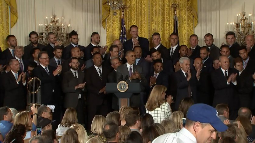 WATCH LIVE: President Obama welcomes World Series champs Kansas City Royals to White House