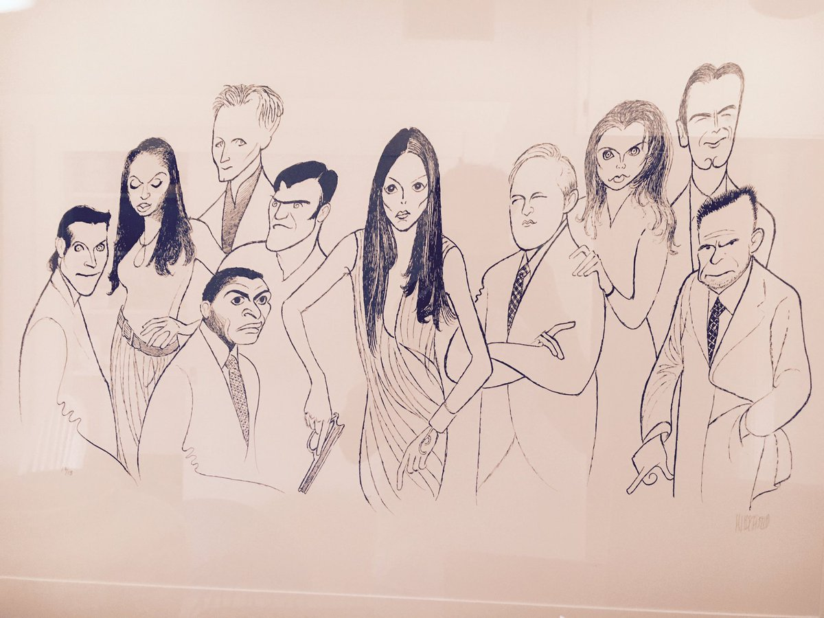 original Al Hirschfeld #Alias sketch. JJ Abrams S2 cast gift. As a true fan of the theater, this was very cool #tbt https://t.co/puRrZYaeGR