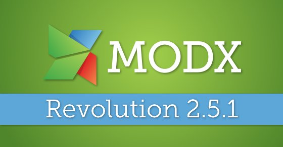 #MODX Revolution 2.5.1 now out. Fixes to S3 Media Sources, Manager Improvements and more: https://t.co/BBQv4MXKnU https://t.co/H7BhcQPEYY