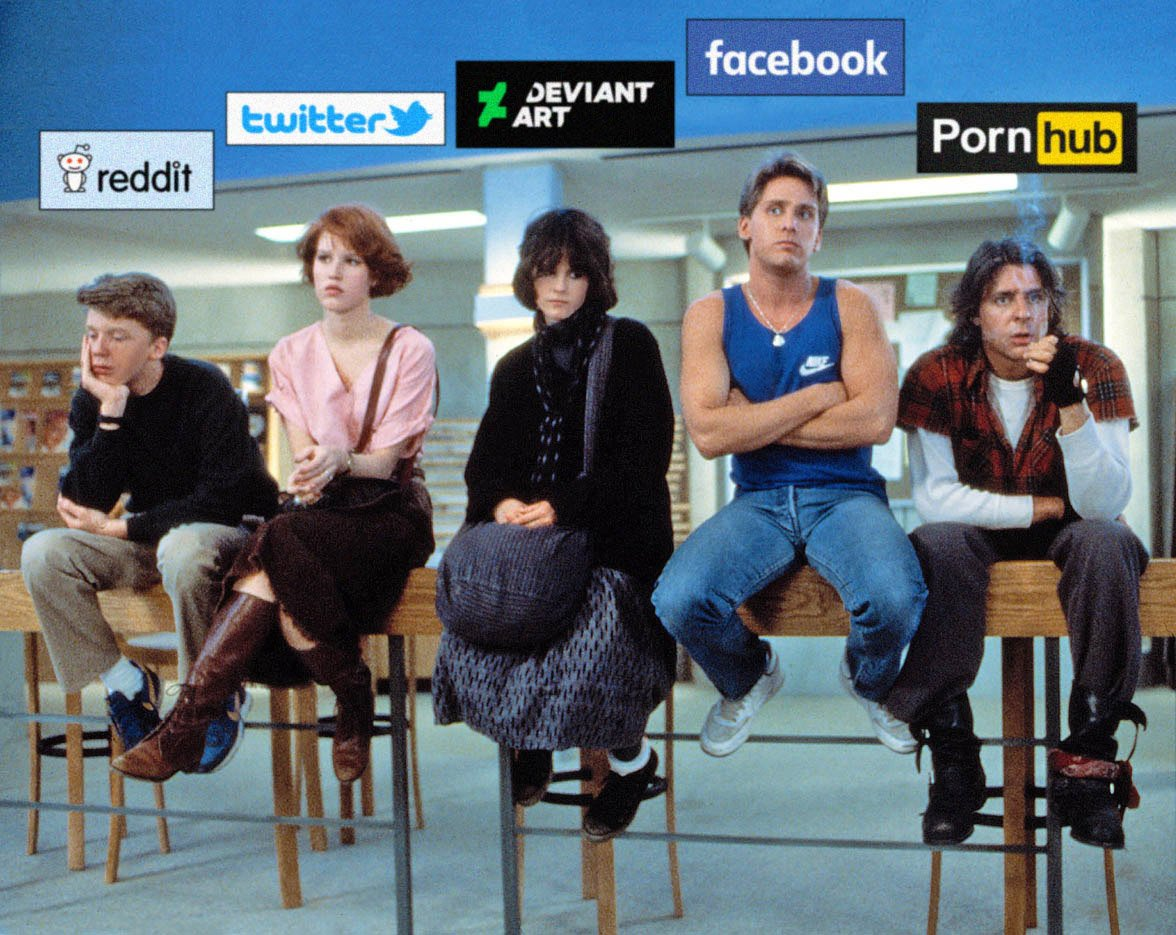 The Breakfast Club on Social Networks https://t.co/QCV5c5LoO6