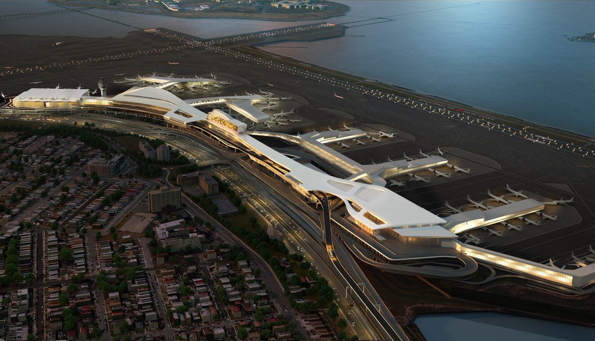 .@Delta & Port Authority of NY, NJ partner to replace Terminals C, D at LaGuardia.