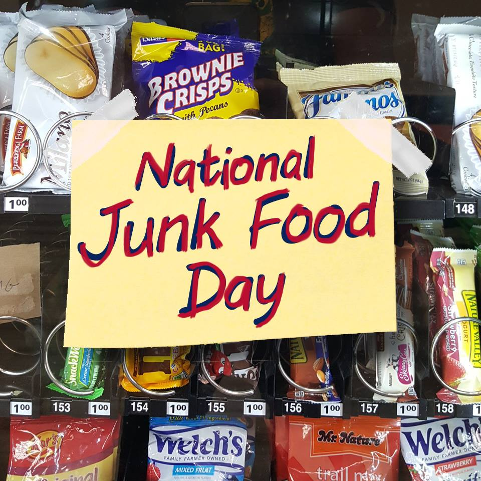 Happy national junk food day what 39 s your favorite for Cuisine janod happy day