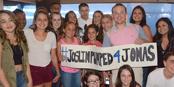 Nick Jonas makes dreams come true for pediatric diabetes patients before his Boston concert