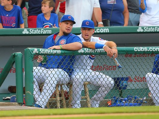 Should Cubs trade Kyle Schwarber in quest for World Series title? (Pic: Dennis Wierzbicki)