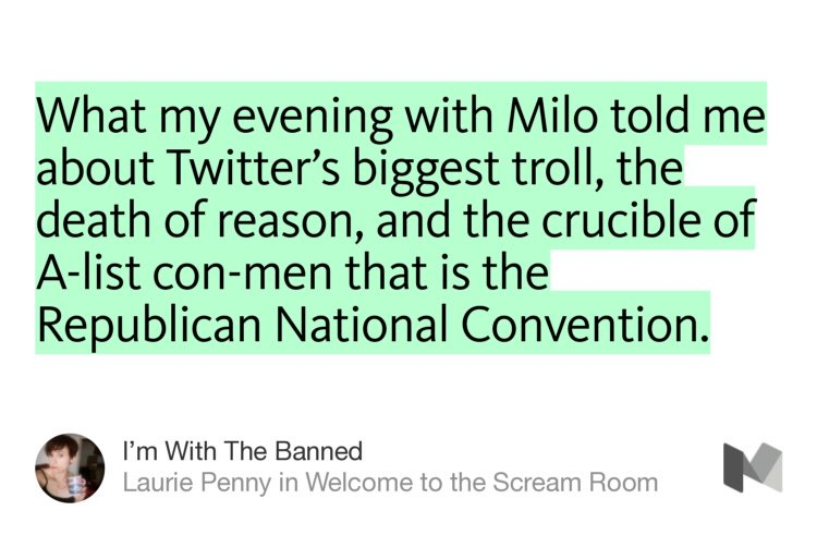 """""""I'm With The Banned"""" by @PennyRed https://t.co/VlFRHeQEmE https://t.co/yAdrGhBTt6"""