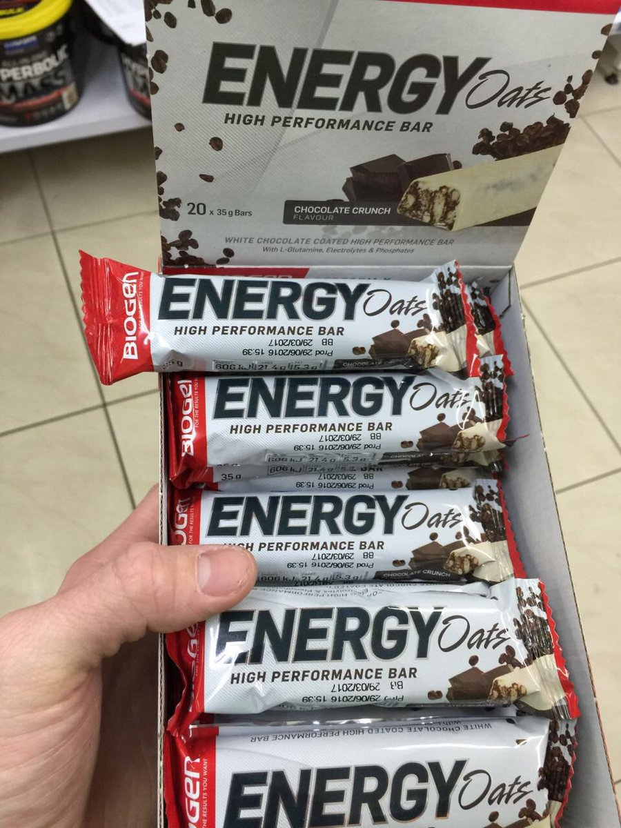 What do you think of our new Energy Oats bar packaging? Available in @Dischem and @cyclelab_JHB stores!! https://t.co/WEUI2h0RWa