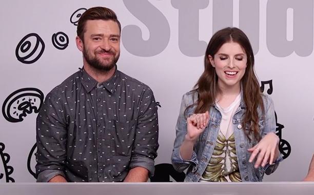 Trolls stars Justin Timberlake, Anna Kendrick geek out over Gwen Stefani: