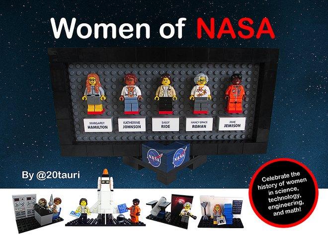 Need 10k supporters to make #WomenOfNASA Lego set @LEGOIdeas https://t.co/E6i8ZCX1n7 https://t.co/1nIOSBbg4N