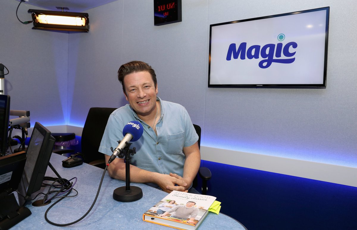 RT @magicfm: Look who's here!! Its only @jamieoliver ..he'll be talking tucker & his new book with @nicksnaith at 8.15am! https://t.co/tY7j…
