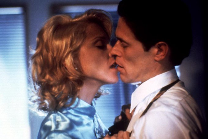 HAPPY BIRTHDAY WILLEM DAFOE - here he is with MADONNA in Body of Evidence