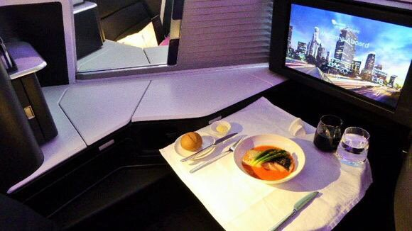 Virgin Australia unveils new business class-cabin at LAX