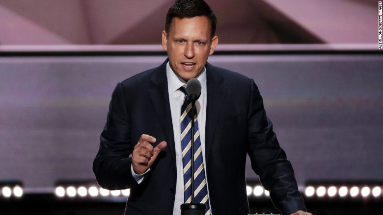 Peter Thiel disrupts Silicon Valley with his RNCinCLE speech