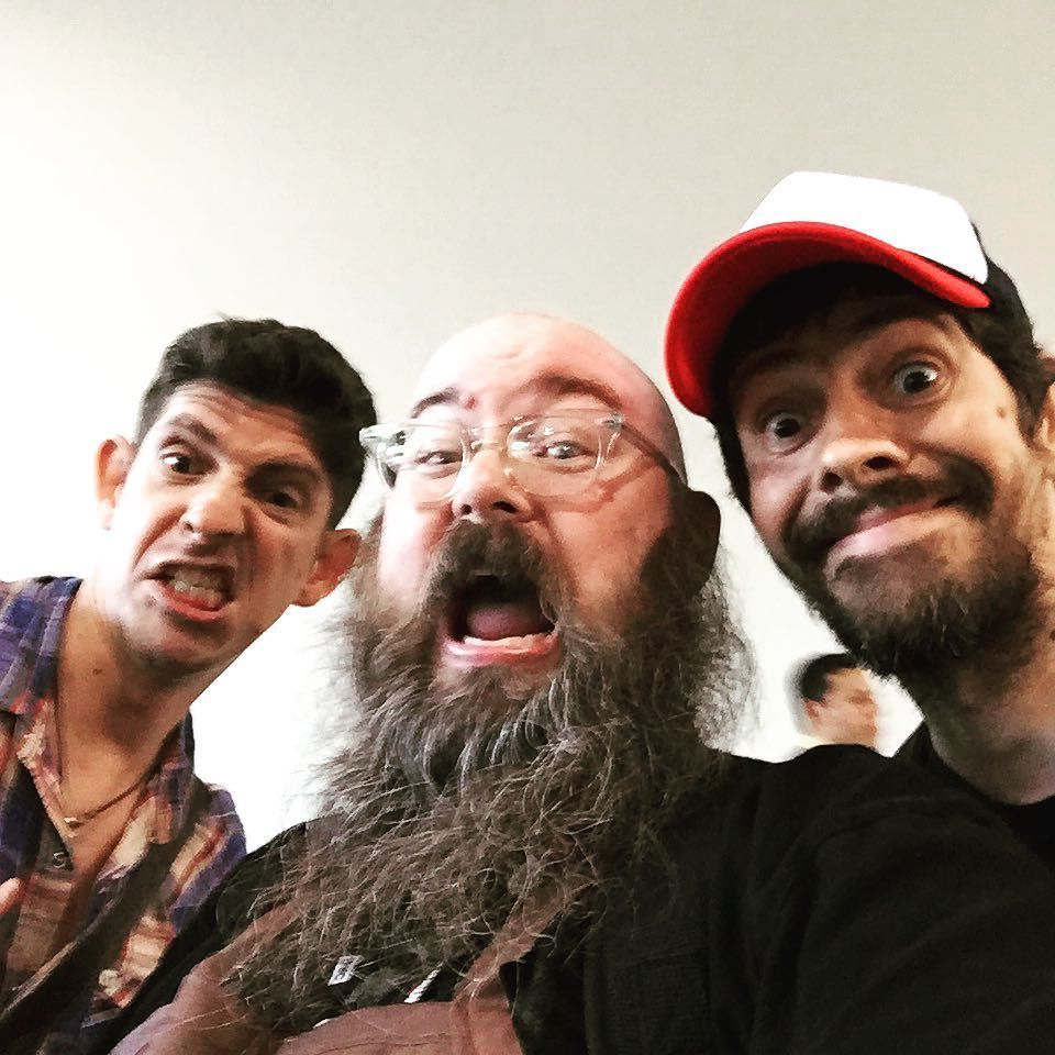 Ran into Gabriel Ba and Fabio moon today at #sdcc, fun surprise! https://t.co/FjZFFvQHug https://t.co/CZAHZQe0QO