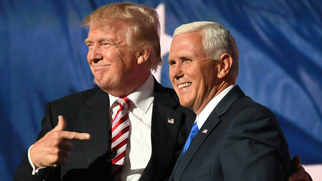 Mike Pence: Trump's humble, Christian and very conservative foil