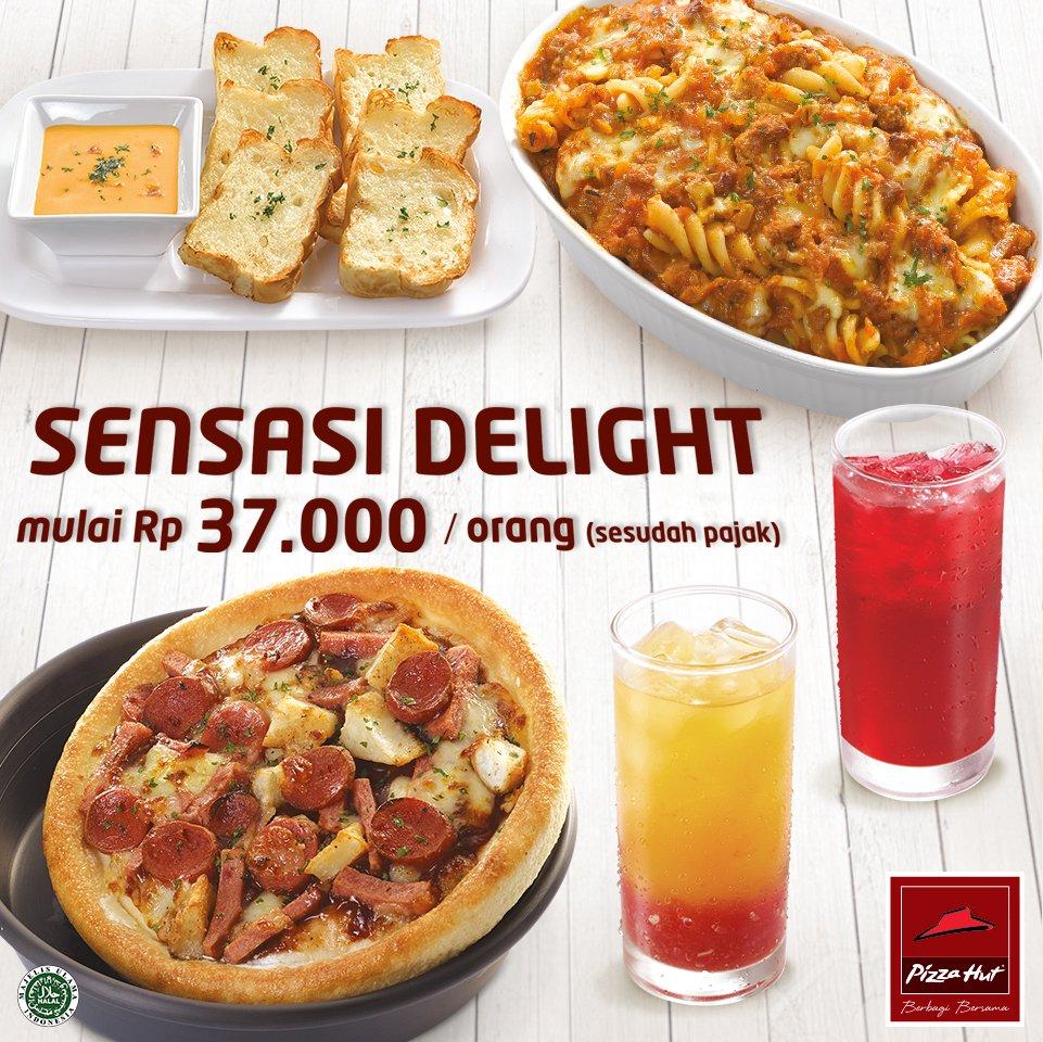 Mau makan bareng dengan harga hemat? Coba aja Sensasi Delight. https://t.co/0AMo6IT7To. #SensasiDelight #PizzaHutID https://t.co/YMmSgGytPa