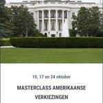 Voor de agenda: de Masterclass Amerikaanse Verkiezingen 10, 17 en 24 okt! https://t.co/1Mi05mRmlR https://t.co/2wrAJvcgLF met @willempostVS