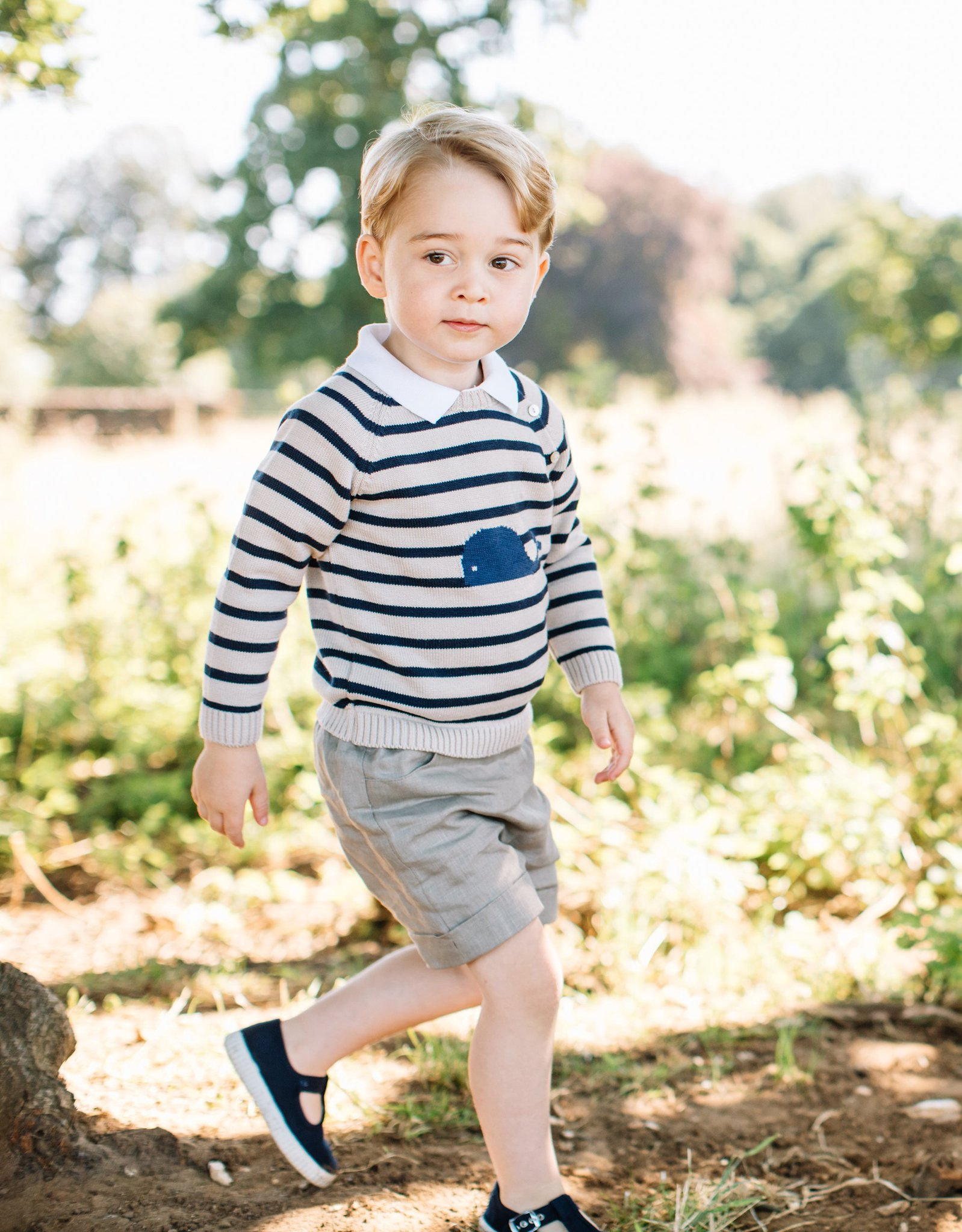 Here are some new photos of Prince George on his 3rd birthday! https://t.co/PYAf3YbOp0