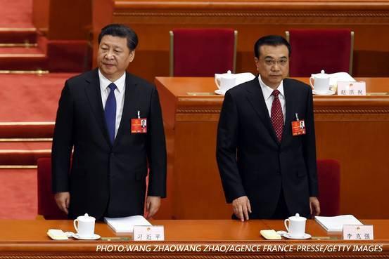 【中国两位最高领导人的分歧趋向公开化】在如何管理中国经济方面,国家主席习近平和总理李克强最近发出了相互矛盾的信息,这与以往中国领导人总是努力呈现出一致立场的做法不同,十分罕见。 https://t.co/Y49h7ojL5P https://t.co/83rdhZH8LI
