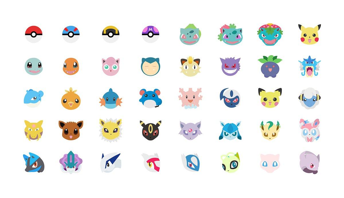 モバイルでポケモンをもっと楽しもう!@Behance アーティストが、かわいいポケモン絵文字 #Pokemoji をデザインしました。https://t.co/bPQ1D6aYl9 #PokemonGO https://t.co/jQugkzkwL5