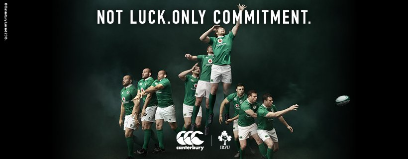 The @IrishRugby Home Jersey is here. Shop it now in store/online; https://t.co/kxrnAxJW4s Not Luck. Only Commitment. https://t.co/hN7TgVyEfn