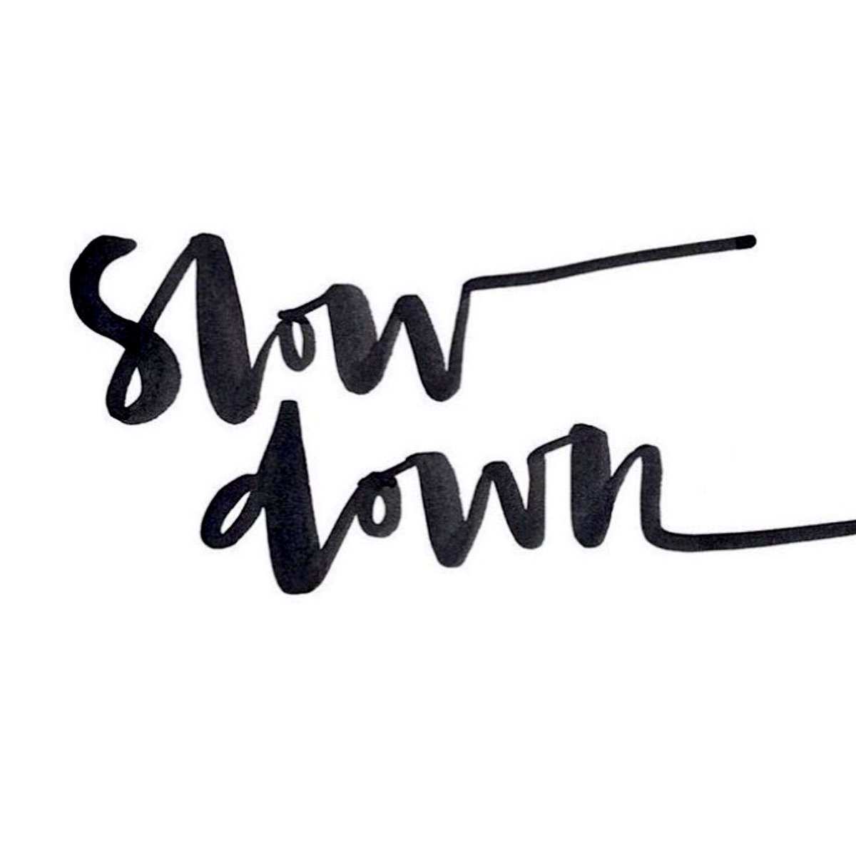 Brilliant things can happen with a calm mind. Remember to take a moment to slow down today. #happyfriday https://t.co/hfA76Qq61r