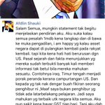 I kinda agree with Afdlin Shauki. Corrupt leaders must be punished but we musnt sell our souls to the Devil (USA) https://t.co/z05udNVDIz